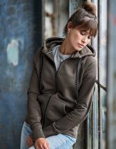 Womens Fashion Full Zip Hood