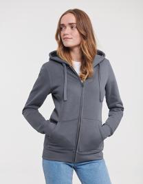 Ladies` Authentic Zipped Hood Jacket